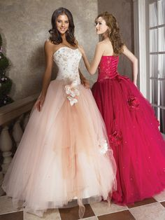 Charming Appliqued Puffed Ball Gown Promotion Dress With Layering Designed