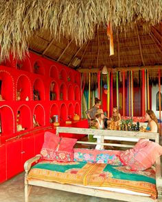 Plan your next escape at the colorful and exciting Pachamama hotel in #Sayulita, #Mexico!