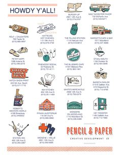 Nashville Guide by Pencil & Paper Nashville Vacation, Tennessee Vacation, Need A Vacation, Nashville Tennessee, Nashville Things To Do, Nashville Downtown, Blue Ridge Mountains, I Want To Travel, Road Trippin