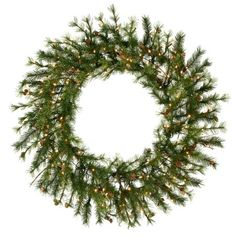 48 Mixed Country Pine Artificial Christmas Wreath - Unlit for sale online Artificial Christmas Wreaths, Holiday Wreaths, Holiday Gifts, Pre Lit Wreath, Merry Christmas, Wreath Hanger, Diy Wreath, Fabric Wreath, Boxwood Wreath