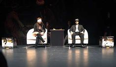 The blindfold game between Polgar and Hoyos in the spotlight