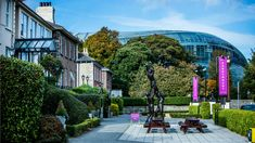 Sandymount Hotel in Dublin 4 is an award winning independent hotel. Located beside the Aviva Stadium, you can be in Dublin city centre in minutes. Dublin Hotels, Dublin City, Sidewalk, Exterior, Mansions, House Styles, Places, Travel, Walkway