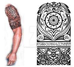 Viking Nordic Tattoo :iconthehoundofulster: