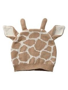 Giraffe hat | Gap, Would this make a good gift? http://keep.com/giraffe-hat-gap-by-kateintn/k/0fooqjgBBS/