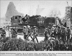 Ww1 Tanks German British supply tank ww1