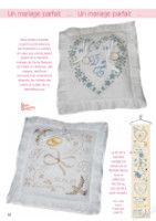 Gallery.ru / Фото #53 - Point de Croix 60 - natalytretyak Le Point, Throw Pillows, Cross Stitch, Gowns, Weddings, Cushions, Decorative Pillows, Decor Pillows, Scatter Cushions