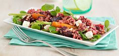 Roasted Beetroot, Carrot, Feta and Quinoa Salad