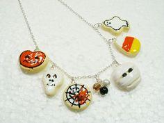 Halloween Cookie Necklace