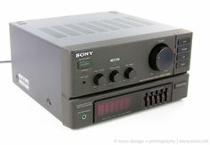 SONY TA-717M STEREO INTEGRATED AMPLIFIER MHC-2200 MINI HI-FI COMPONENT SYSTEM #SONY