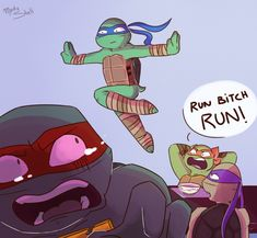 Rise Of Teenage Mutant Ninja Turtle by GolzyDee on DeviantArt Teenage Ninja Turtles, Ninja Turtles Art, Ninja Turtle Toys, Tmnt Leo, Tmnt Mikey, Big Heroes, Desenhos Cartoon Network, Tmnt Comics, Tmnt Girls