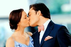 Chuck and blair kiss