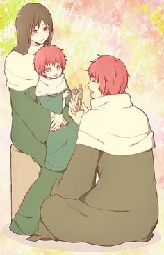 Sasori and his parents! <3 <3