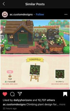Animal Crossing Wild World, Animal Crossing Guide, Animal Crossing Villagers, Animal Games, My Animal, Motif Acnl, Motifs Animal, Craft Stalls, Island Design