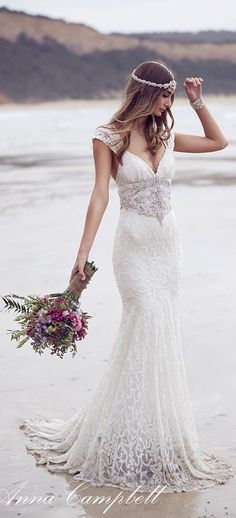 Anna Campbell spirit wedding dress #coupon code nicesup123 gets 25% off at  Provestra.com Skinception.com