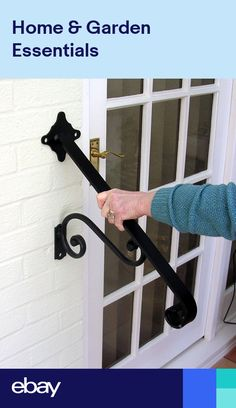 WROUGHT IRON HAND RAIL FOR STAIRS