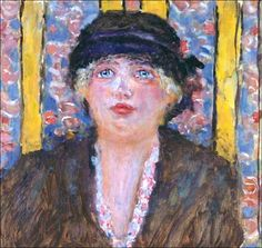 Pierre Bonnard (1867-1947) Femme au chapeau