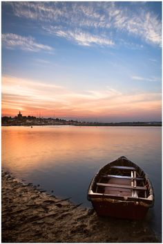 Maldon Essex, boat, sunset