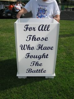 2011 Relay For Life Sandusky, Ohio Remembering all who have fought the battle