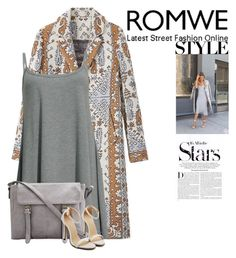 """""""Romwe"""" by nellie200 ❤ liked on Polyvore featuring Tory Burch and Karl Lagerfeld"""