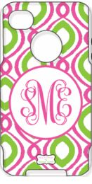 This website is wonderful for girly gifts! Happy Duo Pink & Green OTTERBOX Personalized Phone Cover