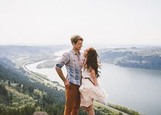 7 Engagement Photo Ideas That Aren't Cheesy and Awkward via @PureWow