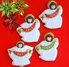 Dainty Delights Awesome Angels!!! Bebe'!!! Love these angel cookies!!!