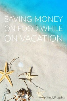 Meals, snacks and drinks can really add up during those days away from home. While food is one of the most expensive areas of a vacation budget, here are some tips and ideas to help keep those costs down.