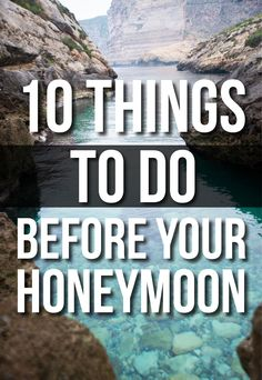 10 things to do BEFORE your honeymoon: PAY YOUR BILLS!! Thank guests BEFORE you leave. Deal with your dress(es). Move your cake. Return tuxes. Collect presents. Pack right, and early. Stay healthy (AND get a travel antibiotic pack). Also, make all arrangements for cat sitter!!!!!