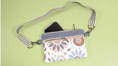 DIY BELT POUCH BAG [sewingtimes] Diy Belt Pouches, Diy Coin Purse, Coin Purse Pattern, Belt Purse, Pouch Pattern, Pouch Bag, Diy Belts, Zipper Pouch Tutorial, Bag Patterns To Sew