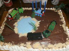 Χειροποίητη τούρτα γενεθλίων από την Αννέτα.