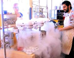 Bringing a teen to London? These are the cool things to do: Liquid Nitrogen Ice-cream