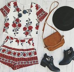 1fb9552bee7ce venue-style  Hat Two-piece Bag Boots ... Fashion Clue