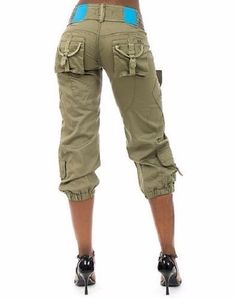 cargo capris with heels | My Fashion | Pinterest | Capri, Clothes ...