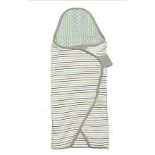 CoCaLo Perfect Swaddle Multi Stripe - Blue/Green (S/M)