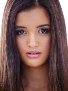 She's  Aussie on Evermoore show.....  naomi sequeira  half Portuguese and Filipino