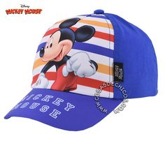 #Gorro / #Gorra con #Visera #Mickey #Mouse Licencia #Oficial #Disney   Gorro de #algodón #sublimado.  Ajustable con velcro.  Talle: Unico.  Protege del sol con toda la onda!  Importador oficial: #Footy.  #CosasDeChicos #MickeyMouse #Clubhouse #azul #blue