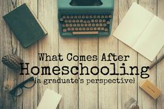 After I graduate from homeschool, what should I do? Here's one graduates experience post homeschool. Paper Writer, The Art Of Storytelling, Homeschool High School, Montessori Homeschool, Homeschooling, Course Offering, Fiction Writing, Getting To Know You, Used Books