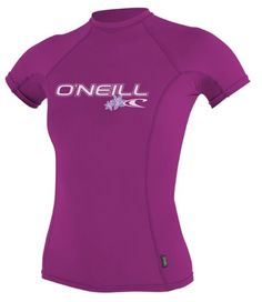 O`Neill Wetsuits Women`s Basic Skins Short Sleeve Crew