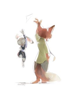 Zootopia, Nick and Judy
