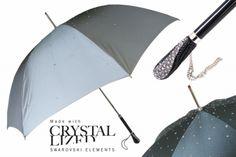 crystals Buy Umbrella, Under My Umbrella, Cute Umbrellas, Umbrellas Parasols, No Rain, Swarovski Crystals, Art Pieces, Purses