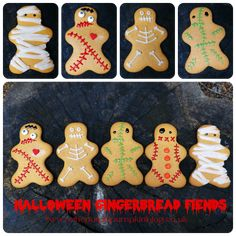 Here's a list of 16 easy kid friendly Halloween treats. Fast and easy kid-friendly Halloween treats, including Halloween snacks kids can make. Halloween Desserts, Halloween Cupcakes, Halloween Food For Party, Halloween Treats, Halloween Outfits, Halloween Decorations, Halloween Backen, Casa Halloween, Holidays Halloween