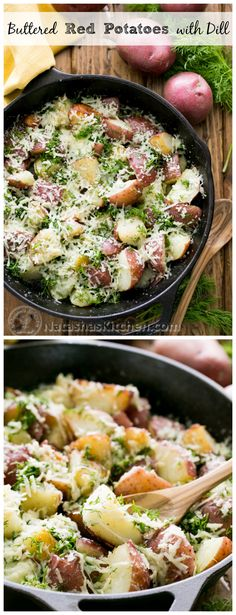 Buttered Red Potatoes with Dill - Sometimes the best recipes are the simplest!