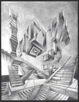 deviantART: More Like Abstract Perspective drawing 2 by ~Drawer888