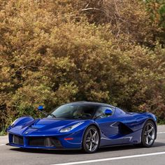 Ferrari LaFerrari painted in ably Elettrico  Photo taken by: Max Francis Photography on Flickr
