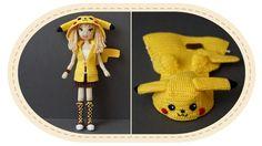 Девушка Пикачу крючком, часть 13 (Кофта, часть 2). Crochet Pikachu girl,...