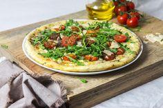 Pizza Italienne tomates parmesan roquette-3