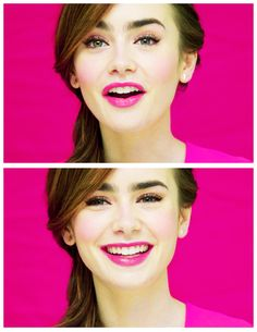 Lily Collins-(b1989) is a British actress, model, and television personality, known for her roles in The Blind Side (2009), Abduction (2011), and Mirror Mirror (2012). In 2013, she portrayed Clary Fray in the fantasy film adaptation The Mortal Instruments: City of Bones, based on Cassandra Clare's best-selling novel City of Bones.