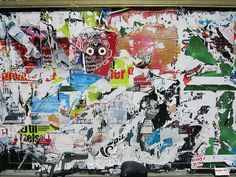 Torn Poster upon Torn Poster by dreadyboy, via Flickr