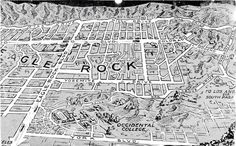 Eagle Rock map