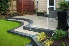20 Ideas curved patio ideas small for 2019 ideas curved 20 Ideas c… - Modern Small Patio Design, Back Garden Design, Small Backyard Patio, Backyard Patio Designs, Pergola Patio, Pergola Ideas, Backyard Landscaping, Built In Garden Seating, Diy Concrete Patio
